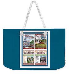 Legacyposterart Weekender Tote Bag by Linda Weinstock