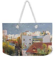 Hometown Weekender Tote Bag by Vali Irina Ciobanu