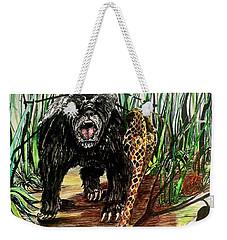 Honey Badger Weekender Tote Bag