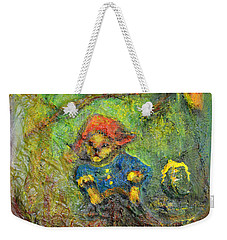 Honey Bear Weekender Tote Bag by Claire Bull