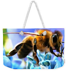Honey Bee In Interior Design Thick Paint Weekender Tote Bag