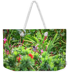 Weekender Tote Bag featuring the photograph Honey Eater, Bushy Lakes by Dave Catley