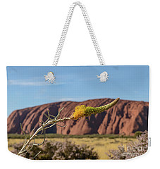 Weekender Tote Bag featuring the photograph Honey Grevillea 01 by Werner Padarin