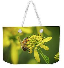 Honeybee 21 Weekender Tote Bag