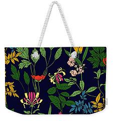 Honeysuckle Floral Weekender Tote Bag
