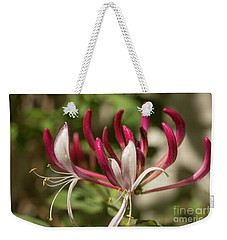Honeysuckle Flower Weekender Tote Bag
