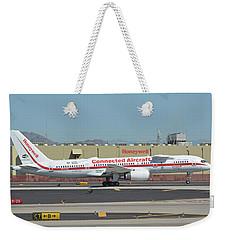 Honeywell Boeing 757-225 N757hw Phoenix Sky Harbor September 30 2017 Weekender Tote Bag