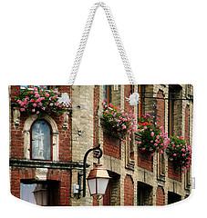 Honfleur Flower Boxes Weekender Tote Bag by Joe Bonita