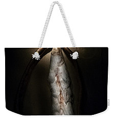 Weekender Tote Bag featuring the photograph Hong Kong Orchid Seed Pod #3 by Lou Novick