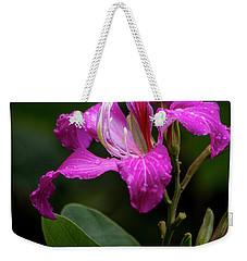 Hong Kong Orchid Weekender Tote Bag