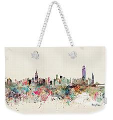 Hong Kong Skyline Weekender Tote Bag