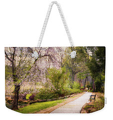 Weekender Tote Bag featuring the photograph Honor Heights Pathway by James Barber
