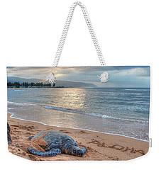 Honu Welcome Weekender Tote Bag