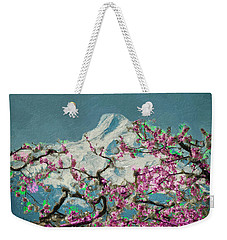 Hood Blossoms Weekender Tote Bag by Dale Stillman