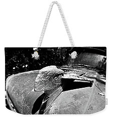 Hood Ornament Detail Weekender Tote Bag