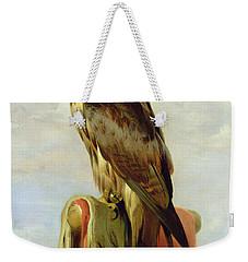 Hooded Falcon Weekender Tote Bag