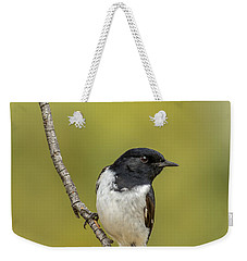 Hooded Robin Weekender Tote Bag