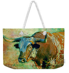 Hook 'em 1 Weekender Tote Bag by Colleen Taylor