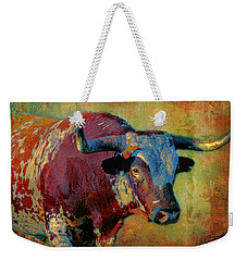 Hook 'em 2 Weekender Tote Bag by Colleen Taylor
