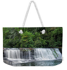 Weekender Tote Bag featuring the photograph Hooker Falls by Steven Richardson