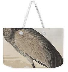 Hooping Crane Weekender Tote Bag by John James Audubon