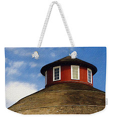 Weekender Tote Bag featuring the photograph Hoosier Cupola by Sandy MacGowan