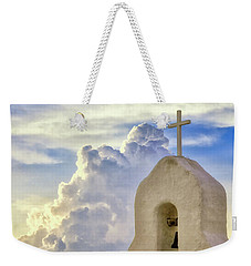 Weekender Tote Bag featuring the photograph Hope In The Storm by Rick Furmanek