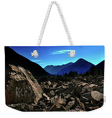 Weekender Tote Bag featuring the photograph Hope by John Poon