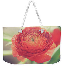 Weekender Tote Bag featuring the photograph Hope by Laurie Search