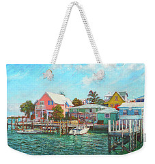 Hope Town By The Sea Weekender Tote Bag