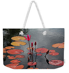 Weekender Tote Bag featuring the photograph Hopefully Ever After by Michiale Schneider