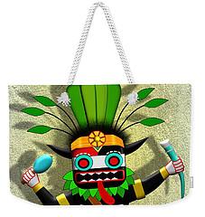 Hopi Harvest Kachina Weekender Tote Bag by John Wills