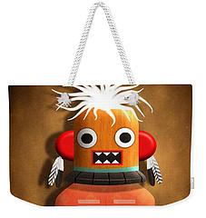 Hopi Indian Kachina Weekender Tote Bag by John Wills