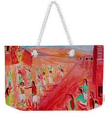 Hopi Indian Ritual Weekender Tote Bag