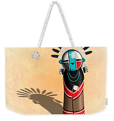 Hopi Sun Face Kachina Weekender Tote Bag