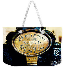 Hopkinson's Albron Press Weekender Tote Bag