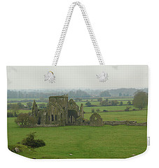 Weekender Tote Bag featuring the photograph Hore Abbey by Marie Leslie