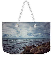 Weekender Tote Bag featuring the photograph Horizon by Karen Stahlros