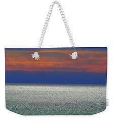 Horizontal Sunset Weekender Tote Bag