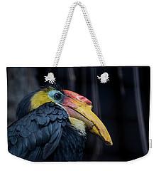 Hornbilled Bird Weekender Tote Bag