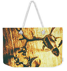 Horned Animal Rings Weekender Tote Bag