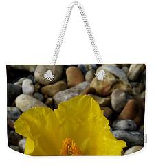 Horned Poppy And Pebbles Weekender Tote Bag