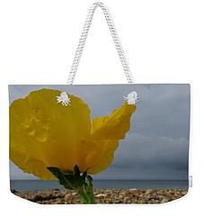 Horned Poppy By The Sea Weekender Tote Bag