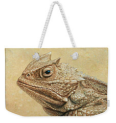 Horned Toad Weekender Tote Bag