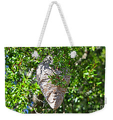 Weekender Tote Bag featuring the photograph Hornets Home by Al Powell Photography USA