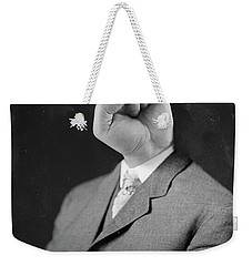 Horny Retro Portrait  Weekender Tote Bag