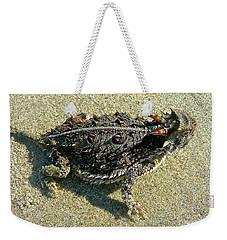 Horny Toad Lizard Weekender Tote Bag