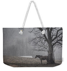 Weekender Tote Bag featuring the photograph Horse And Tree by Sumoflam Photography