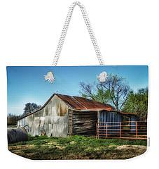 Horse Barn In Color Weekender Tote Bag