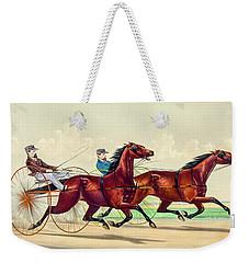 Horse Carriage Race Weekender Tote Bag